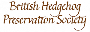 The British Hedgehog Preservation Society logo